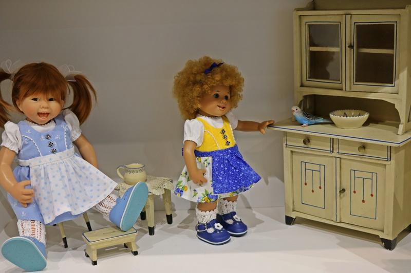 Photos de Wichtel de l'exposition Puppen à Münster / Allemagne 32598904hb