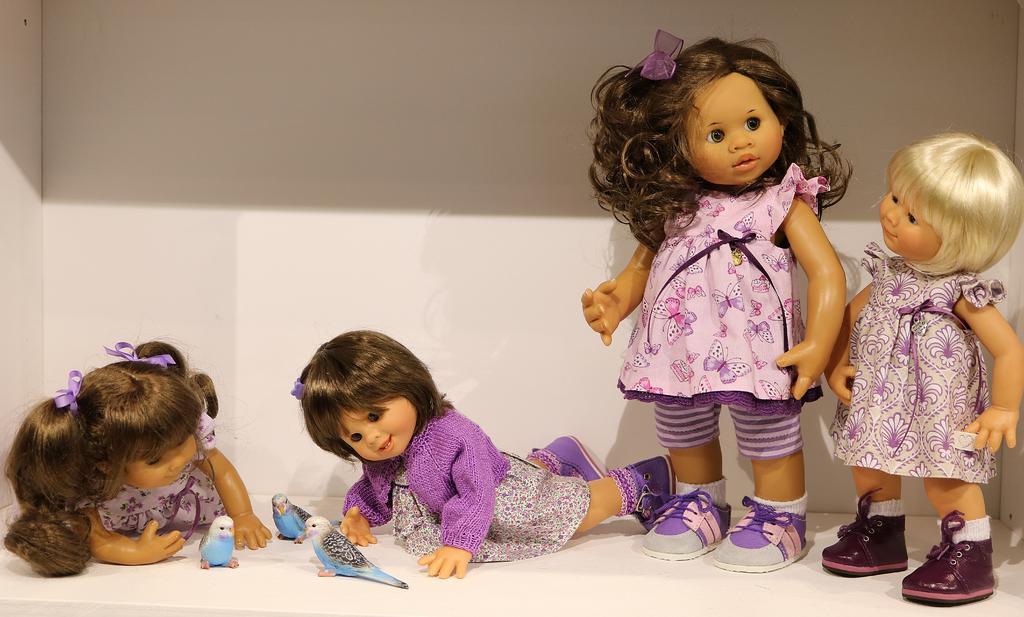 Photos de Wichtel de l'exposition Puppen à Münster / Allemagne 32598905ke