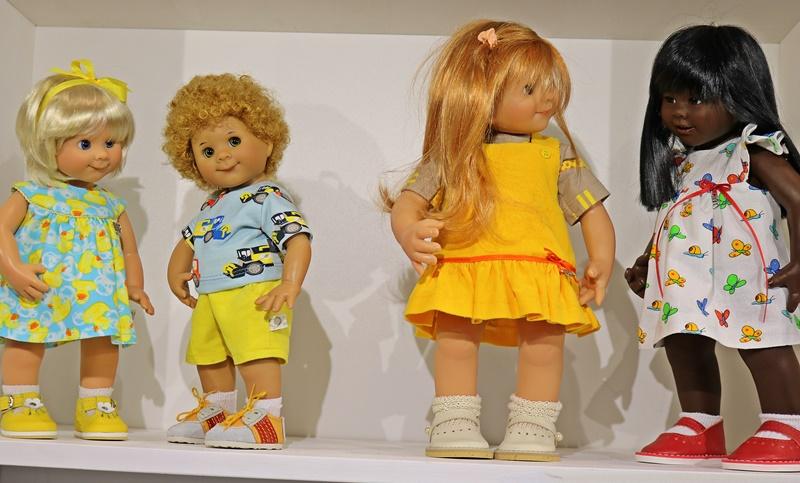 Photos de Wichtel de l'exposition Puppen à Münster / Allemagne 32598906in