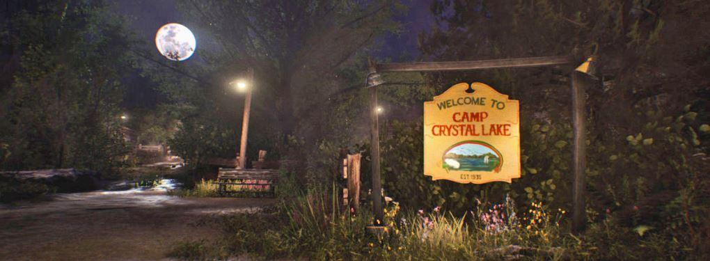 Freitag der 13. Schild Replik Camp Crystal Lake