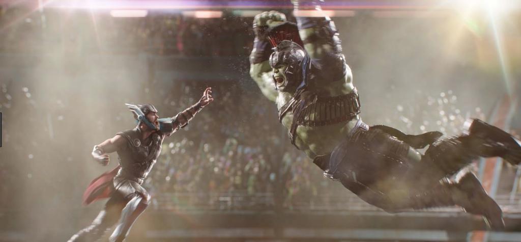 Thor Tag der Entscheidung Marvel Movie Milestones Statue Gladiator Thor