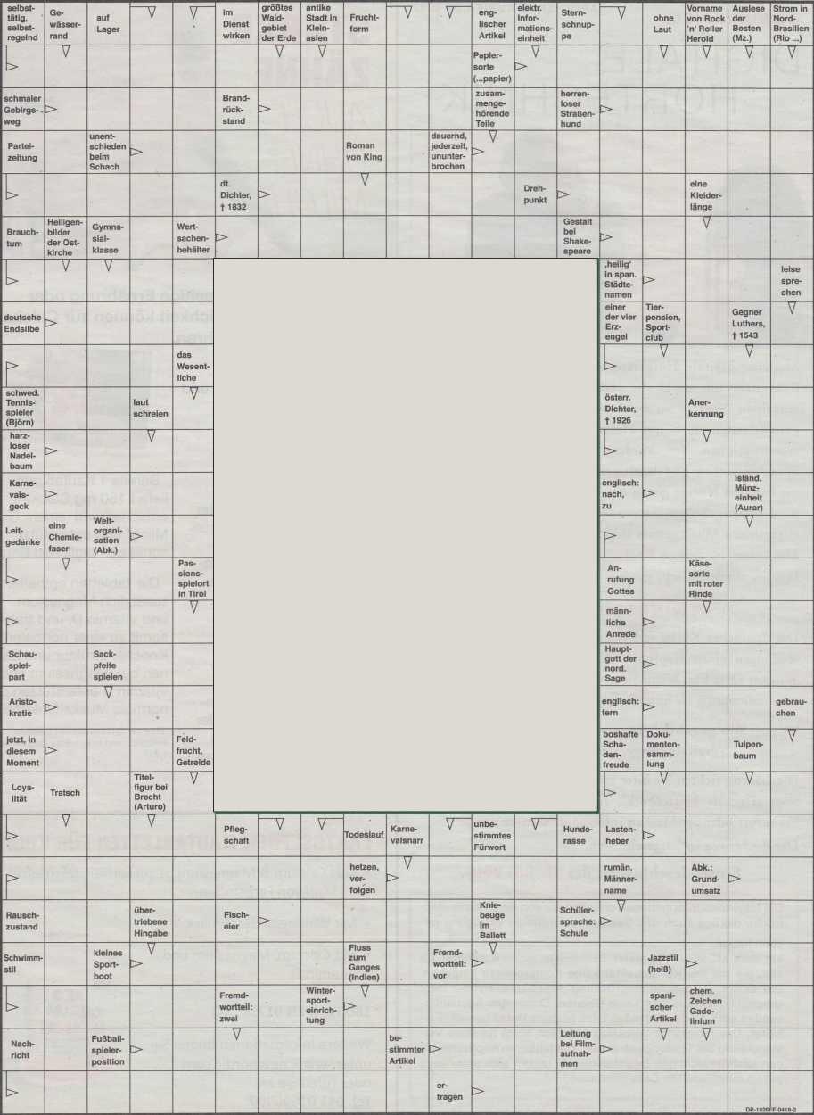 Werner 0091 Kreuzworträtsel>>gelöst von Daddy 33175145wd