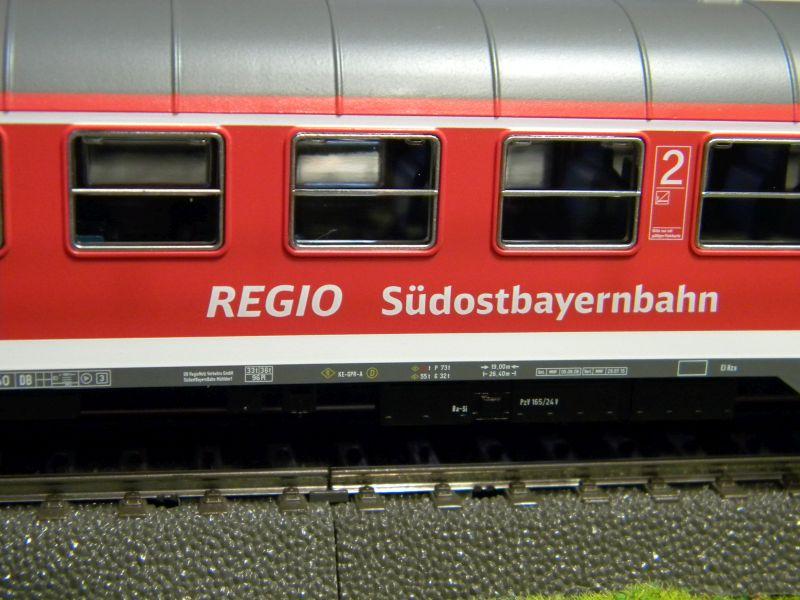 Piko Personenzugset der SüdOstBayernbahn SOB 33232969ue
