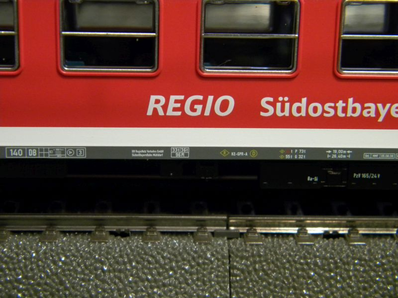 Piko Personenzugset der SüdOstBayernbahn SOB 33233008jz