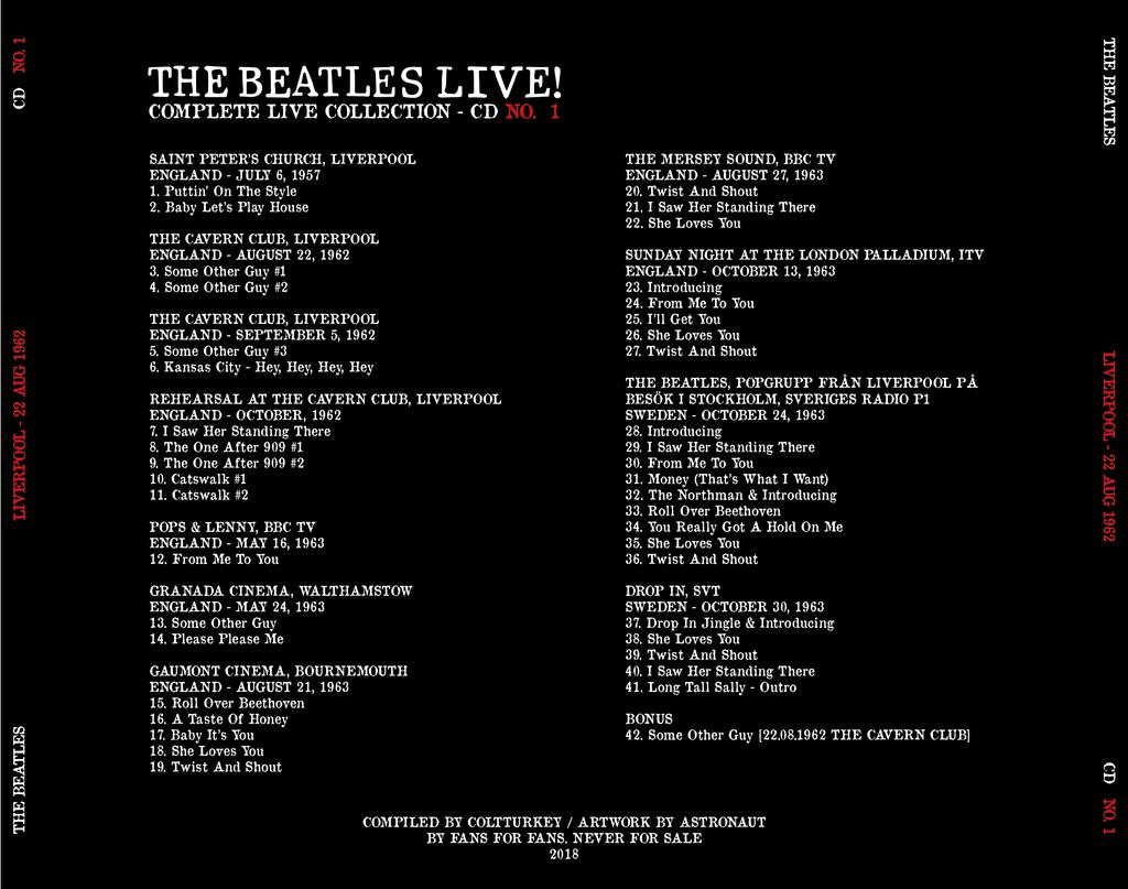 BootlegZone • View topic - The Beatles - Complete Live
