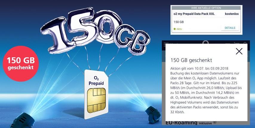 O2 Prepaid Karte Aktivieren.Kostenlos O2 Prepaid Simkarte 150 Gb Datenvolumen Uber