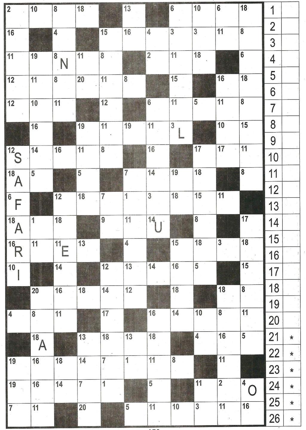 Daddy 0242:Zahlen-Kreuzwort-Rätsel>>>GEL.VON WERNER 33531364wx