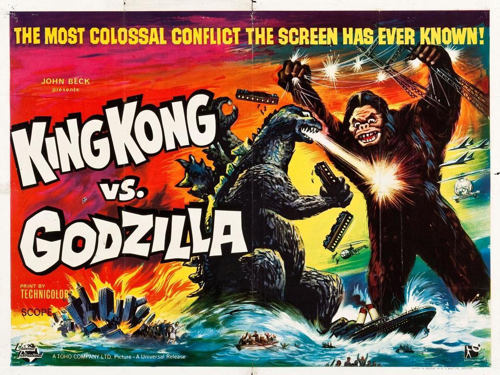 Godzilla 1962 Actionfigur