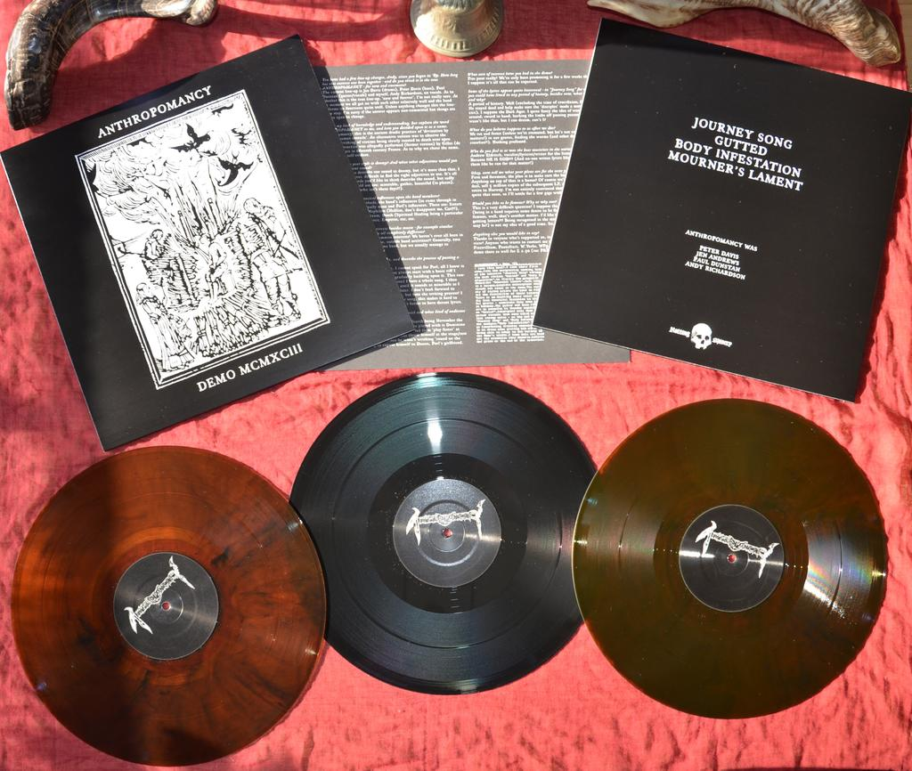 The Doomed Forum - View topic - Anthropomancy - Demo 1993 LP on