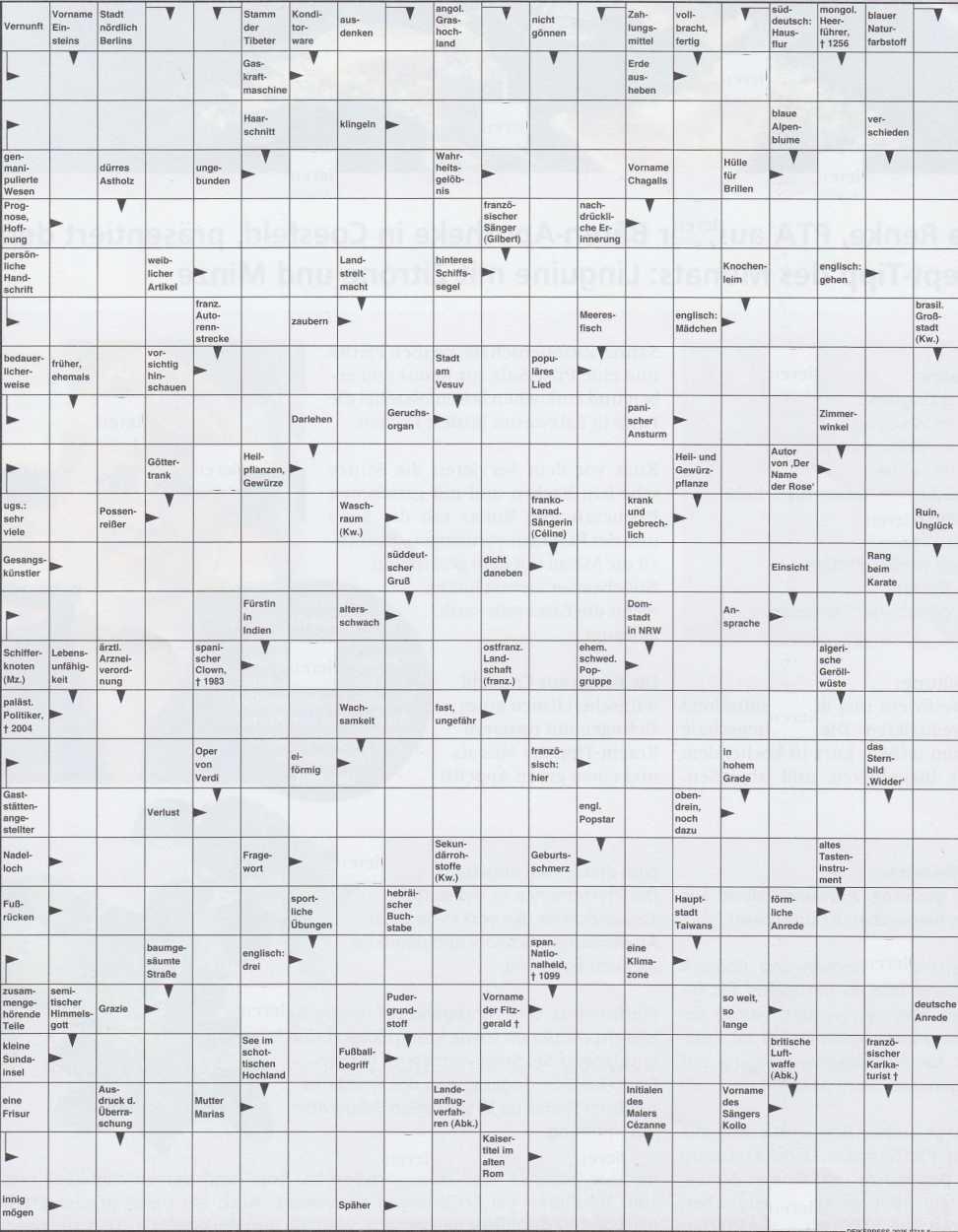 Werner 0122 Kreuzworträtsel>>gelöst von Daddy 33830267tw