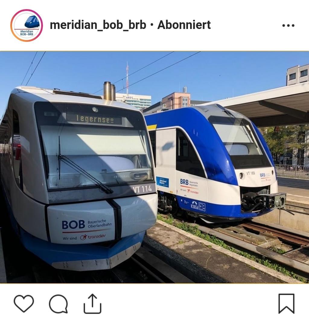 München Hbf Bob Meets Brb