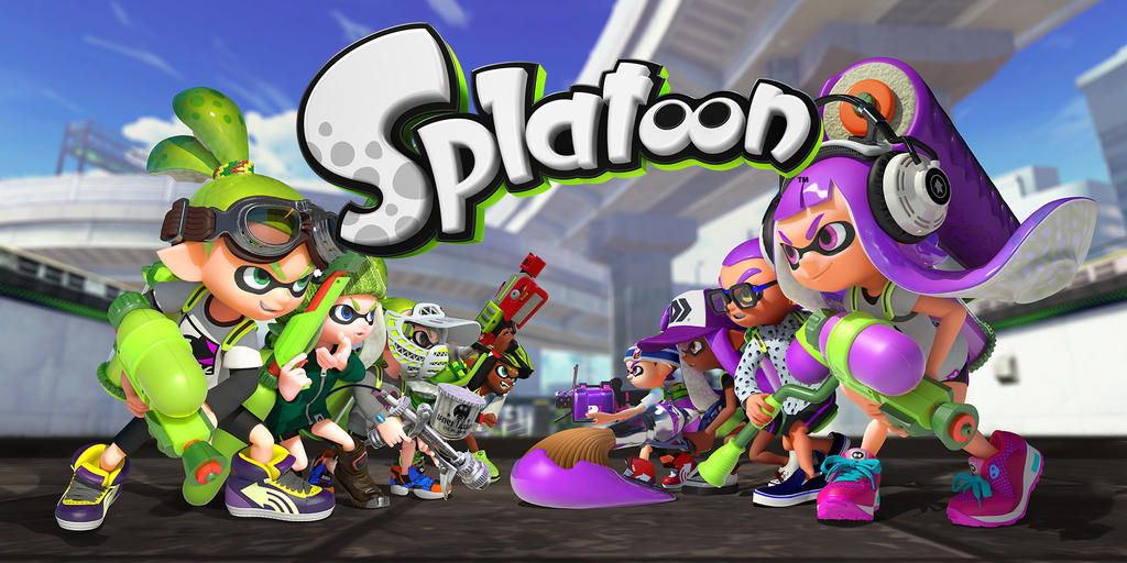 Splatoon Actionfiguren