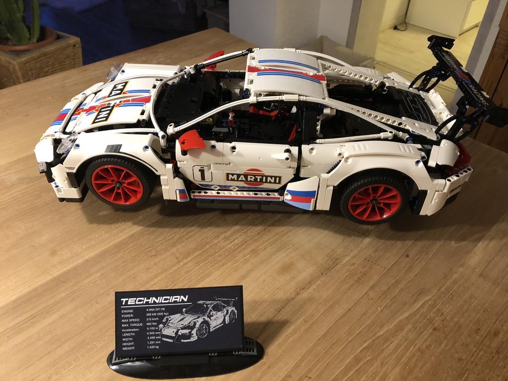 Lepin Porsche Steinesucht