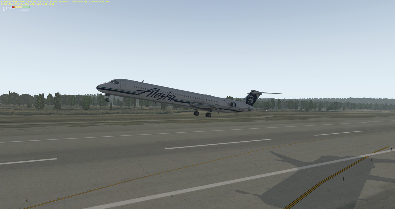 Mit der Default MD-82 von Anchorage nach Ketchikan 33962340rg