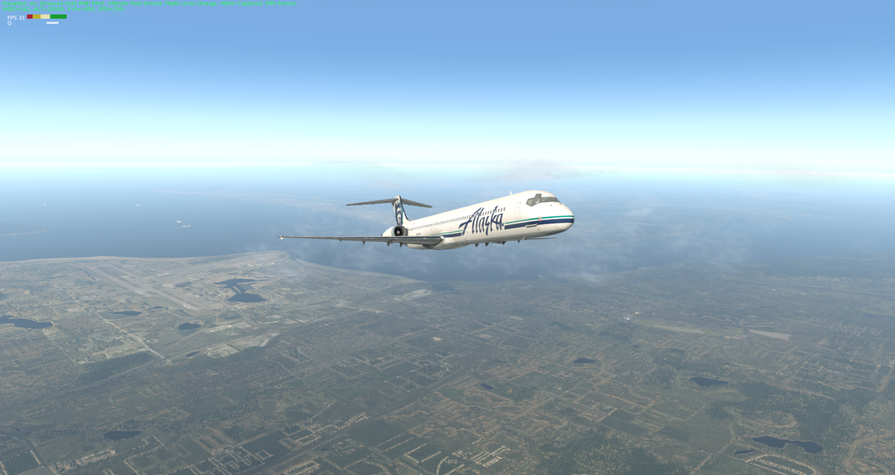 Mit der Default MD-82 von Anchorage nach Ketchikan 33962342jd