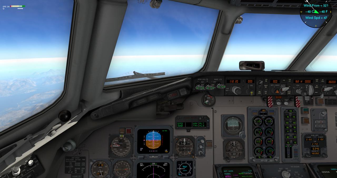 Mit der Default MD-82 von Anchorage nach Ketchikan 33962362zd