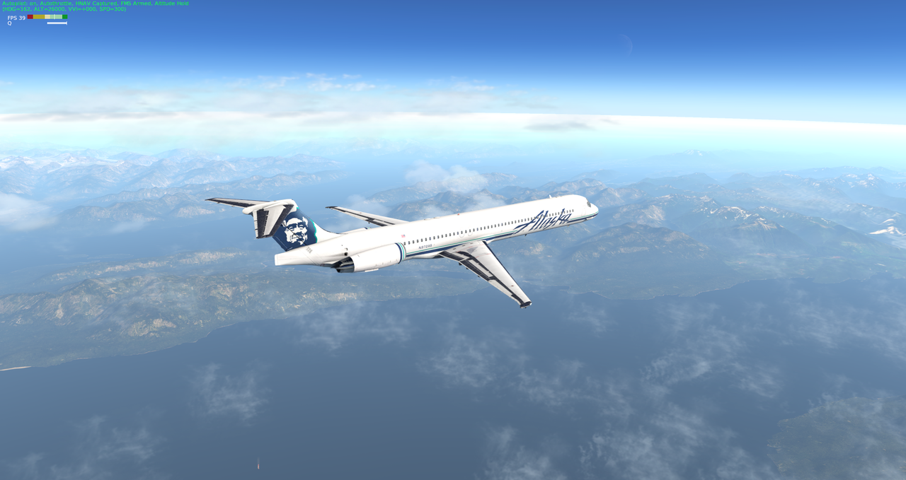 Mit der Default MD-82 von Anchorage nach Ketchikan 33962378ly