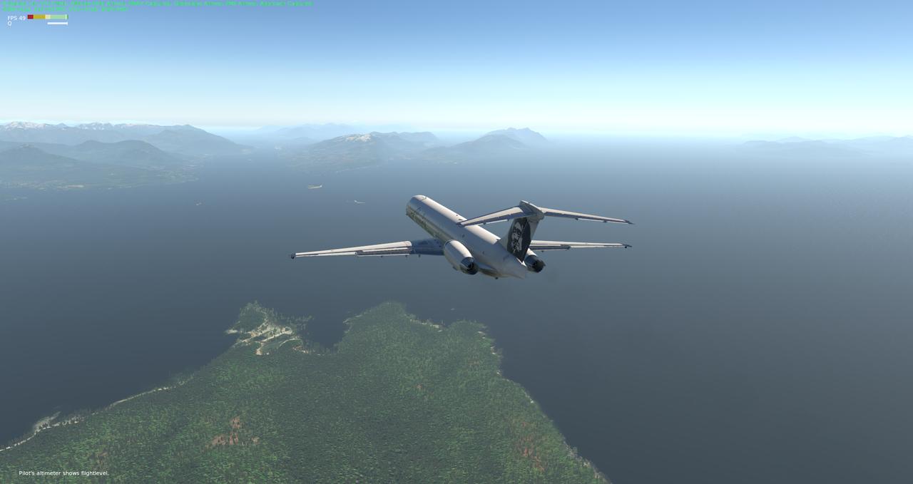 Mit der Default MD-82 von Anchorage nach Ketchikan 33962396ib