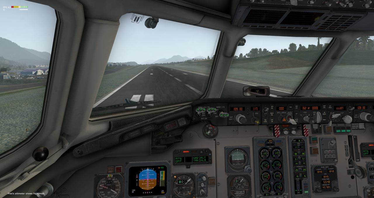 Mit der Default MD-82 von Anchorage nach Ketchikan 33962410xw