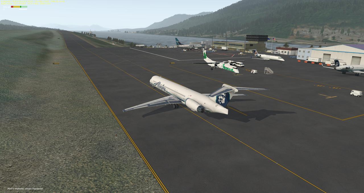 Mit der Default MD-82 von Anchorage nach Ketchikan 33962421jp