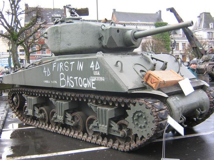 First in Bastogne/Cobra King