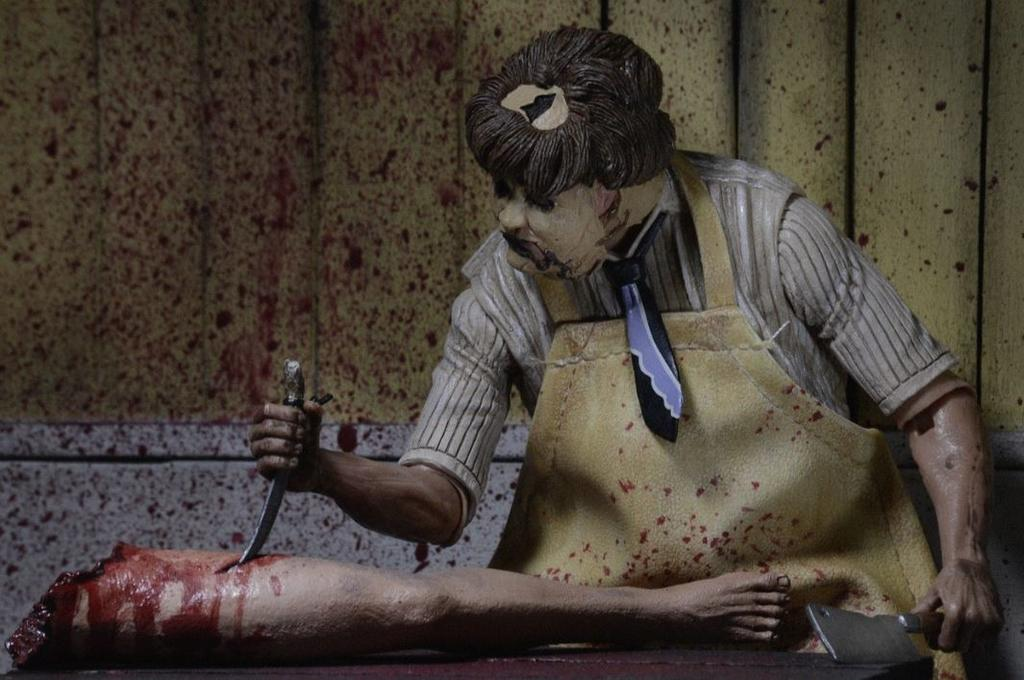 Texas Chainsaw Massacre – 7? Scale Action Figure – 40th Anniversary Ultimate Leatherface