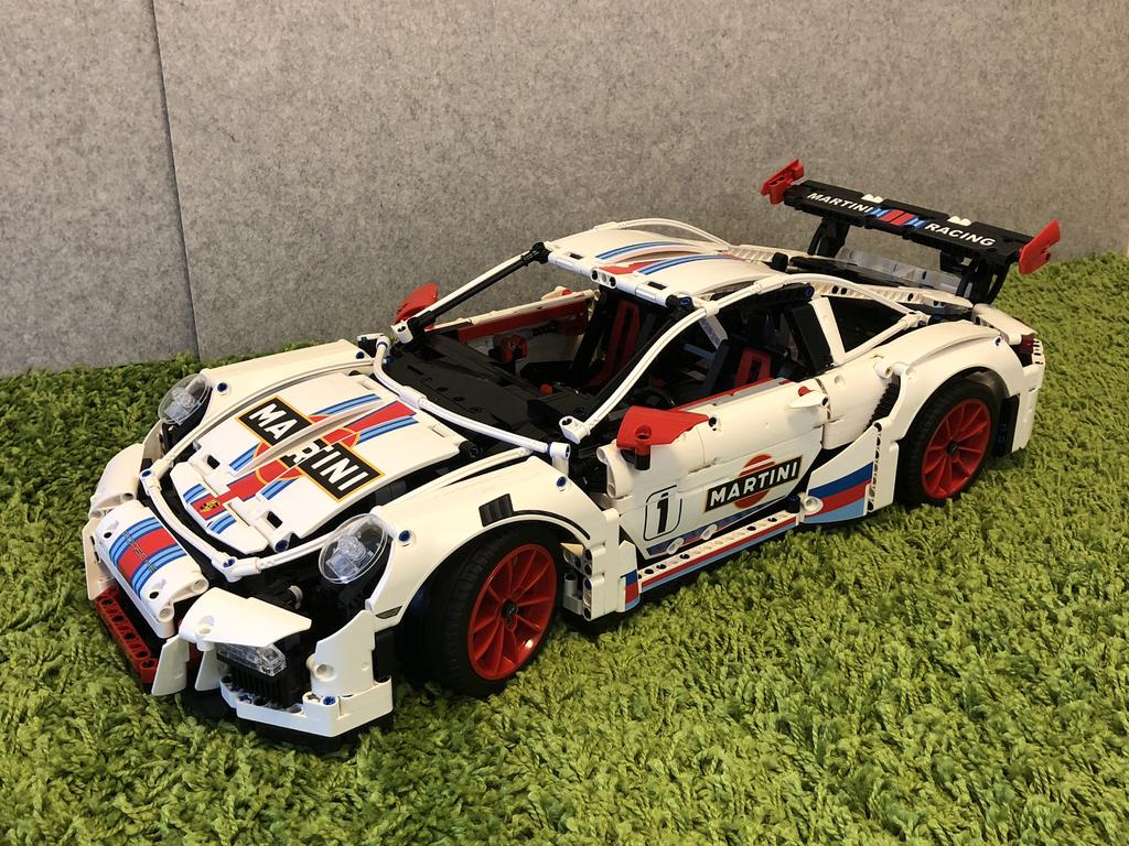 Lepin Martini Racing Porsche GT3 RS