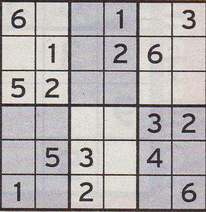 Werner 0144 Sudoku Mini>>gelöst von Daddy 34163074ha