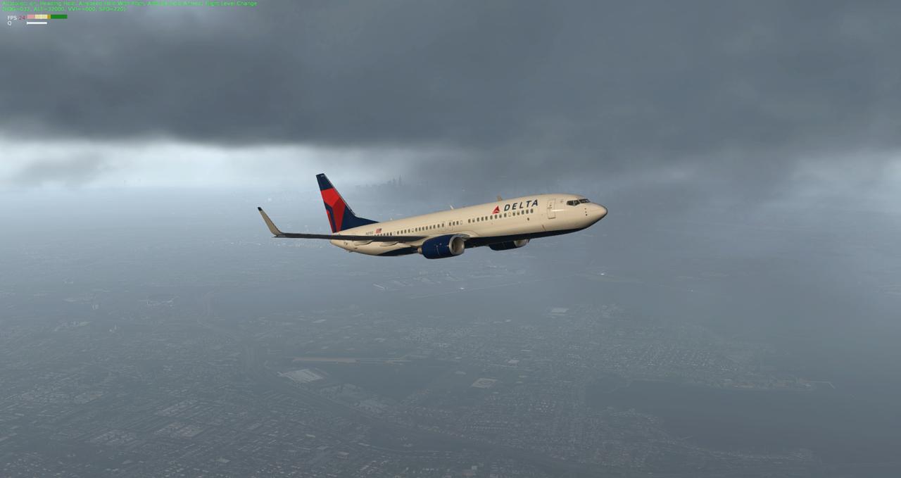 Mit der 737-800 Zibo von New York nach Chicago 34245431zf