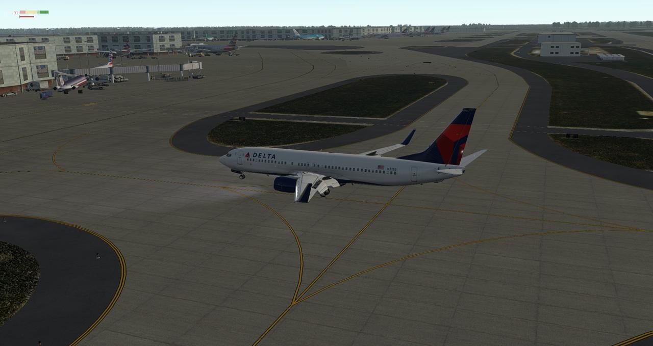 Mit der 737-800 Zibo von New York nach Chicago 34245473rt