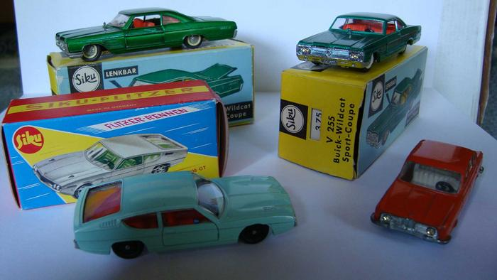 Modelli degli per anni '60 di e »Siku auto stand '50 rCoBdxe