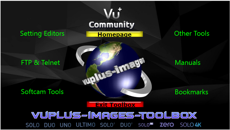 VU+ Toolbox by vuplus-images V3.0