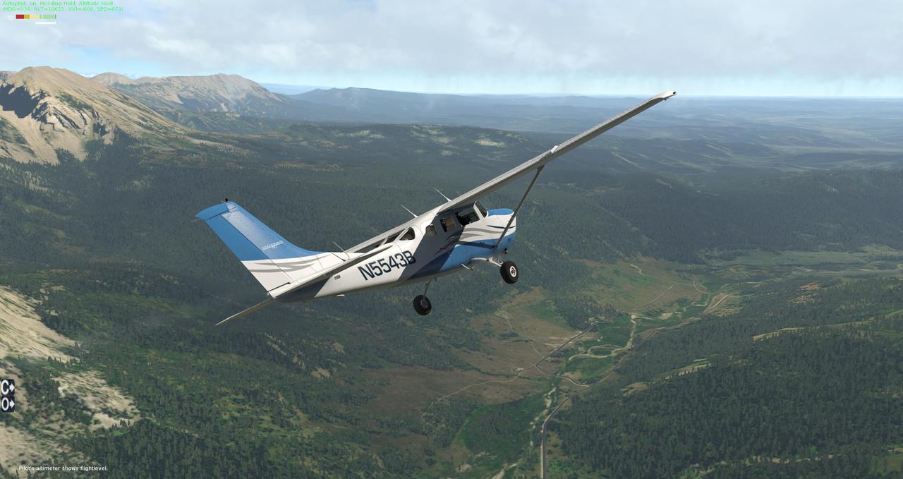 Testflug North Wyoming 35350387az