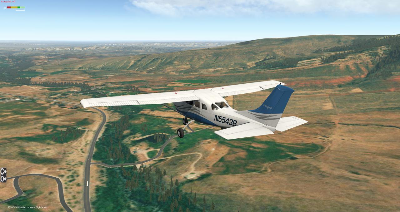 Testflug North Wyoming 35350542ul
