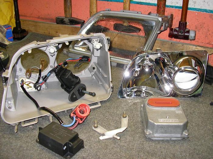 R129SL Roadster - Forum • Thema anzeigen - Xenon Nachrüstung R129 ...