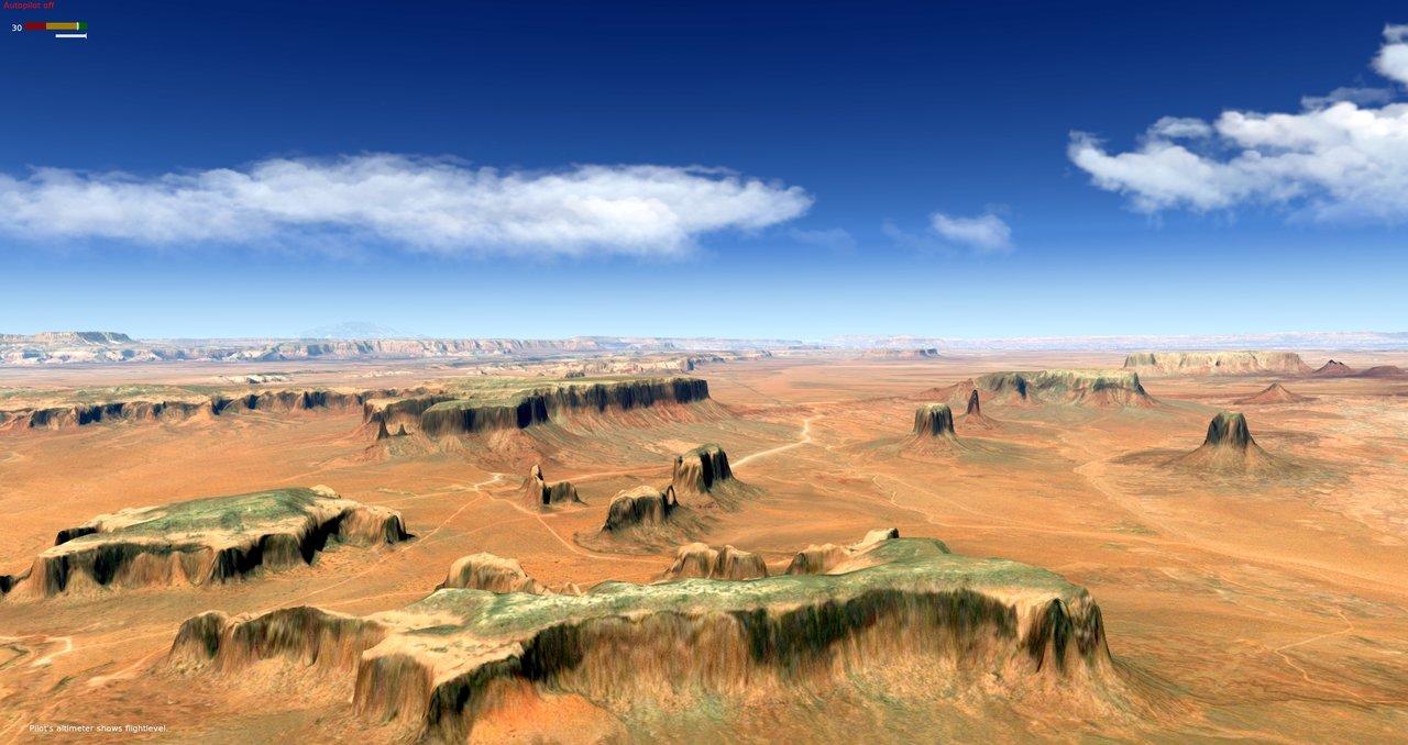 Monument Valley 10m Mesh 36001840ag