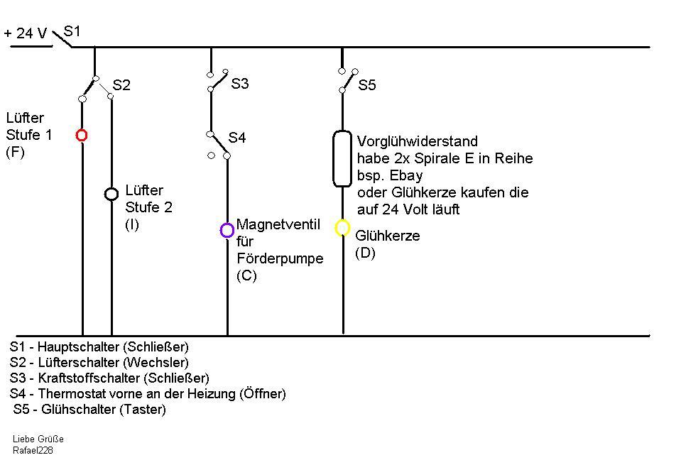Fantastisch Webasto Schaltplan Zeitgenössisch - Die Besten ...