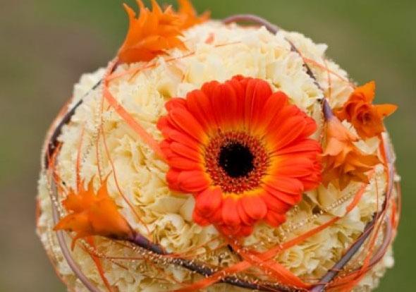 Re:Deko in Creme, Weiß bzw. helles orange (alle Farben gemischt)