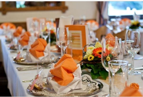 Deko In Creme Weiss Bzw Helles Orange Alle Farben Gemischt