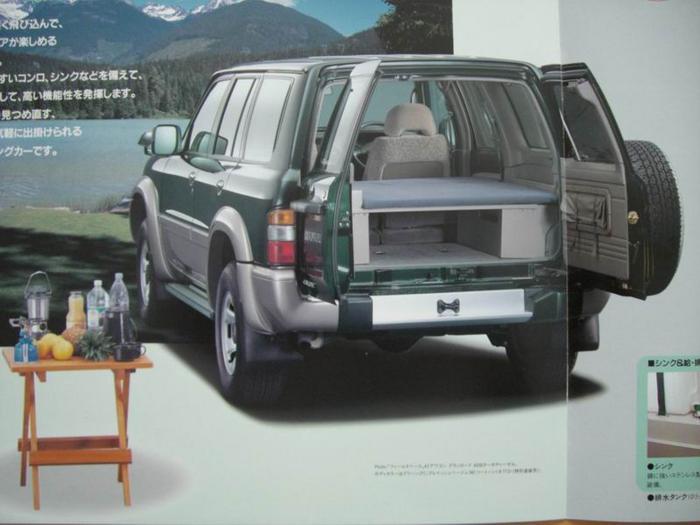 das offroad forum das patrol wohnmobil ab werk. Black Bedroom Furniture Sets. Home Design Ideas
