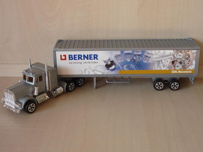 N°604 Kenworth + semi remorque container  ( version lisse ) 4505564