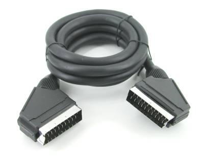scart kabel kabel und stecker einebinsenweisheit. Black Bedroom Furniture Sets. Home Design Ideas