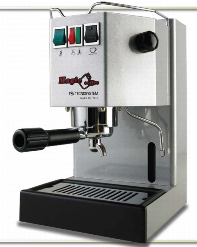 tecnosystem magic coffee espresso machine