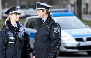 Die Polizei und ihre Fahrzeuge
