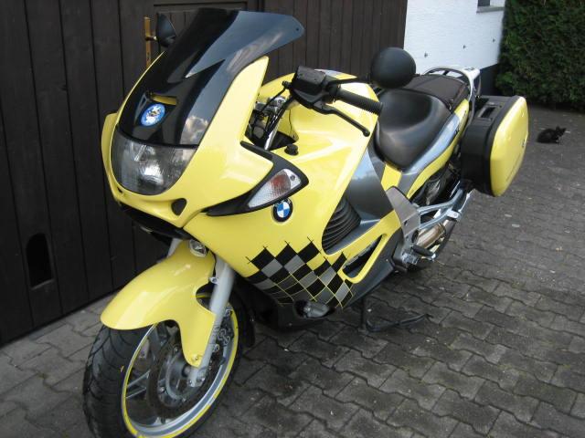 Noch Eine Gelbe K 1200 Rs Www Bmw Bike Forum Info