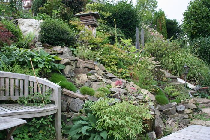 Teich Anlegen Hanglage_10:24:33 ~ Egenis.com : Inspirierend Garten ... Garten Am Hang Anlegen