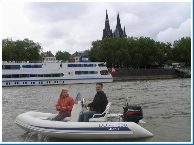 schlauhboot mit motor 3ps