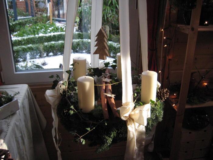 weihnachtsdeko im landhausstil decoraiton. Black Bedroom Furniture Sets. Home Design Ideas