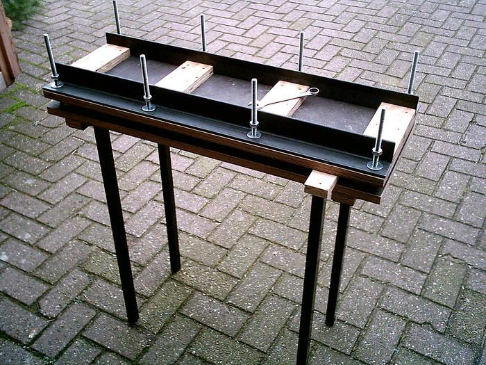 furnierpresse ist fertig basteln reparieren mehr. Black Bedroom Furniture Sets. Home Design Ideas