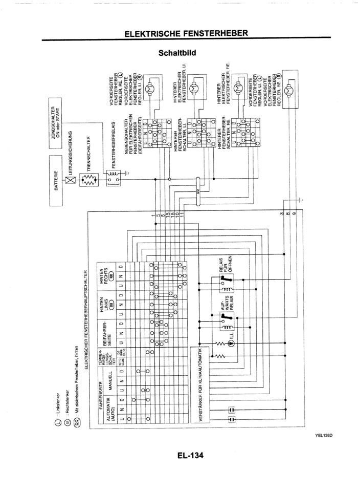 Ausgezeichnet Nissan Terrano Schaltplan Zeitgenössisch - Elektrische ...